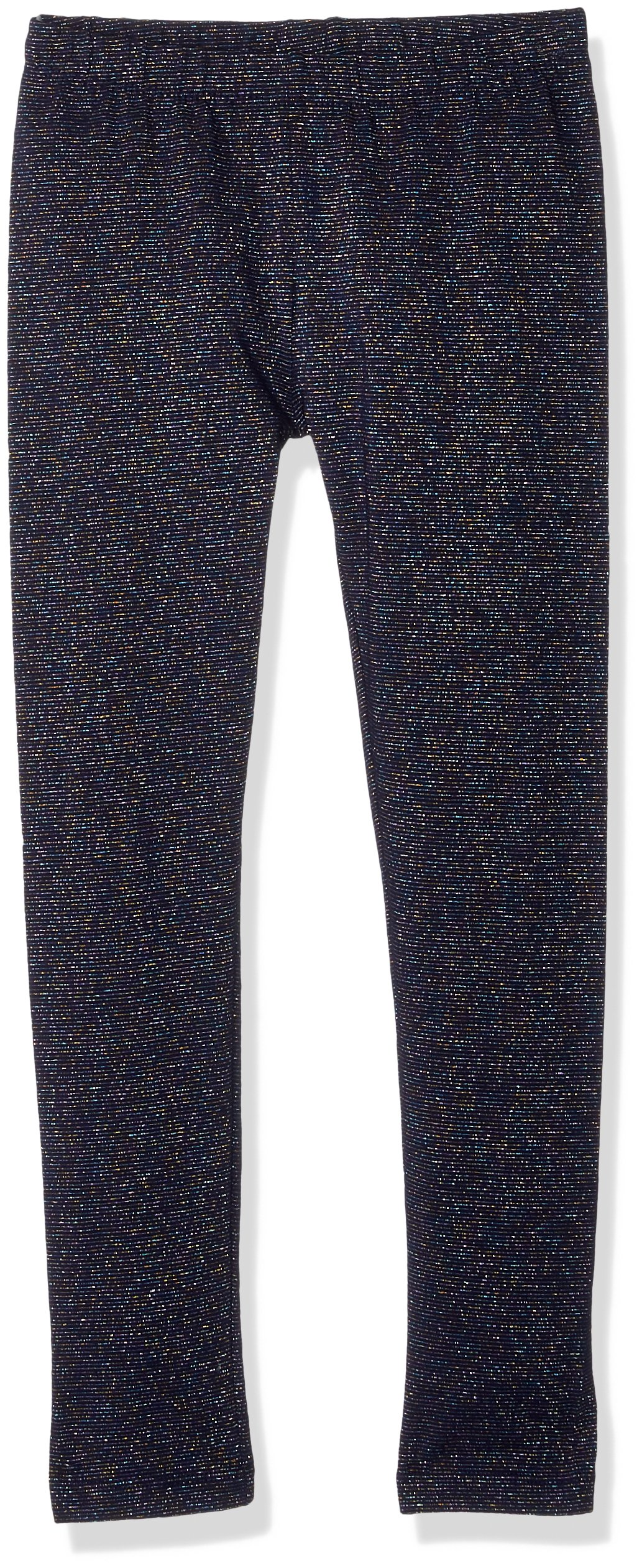 Gymboree Little Girls' Basic Sparkle Legging, Navy Sparkle, M by Gymboree (Image #1)
