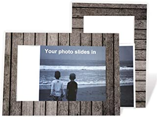 product image for Barnwood 4x6 Photo Insert Note Cards - 24 Pack by Plymouth Cards