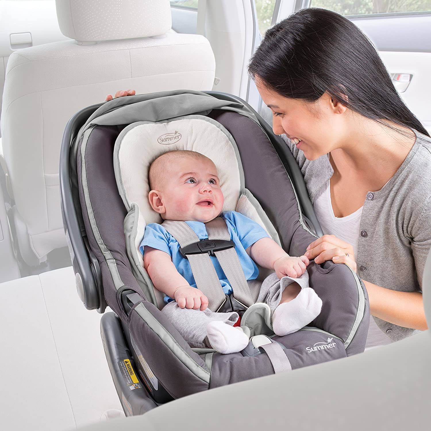 Amazon.com: Summer Infant Snuzzler Infant Support for Car Seats and