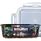 Premium Glass Meal Prep Food Storage Container (1, 1-Compartment (28 Oz))