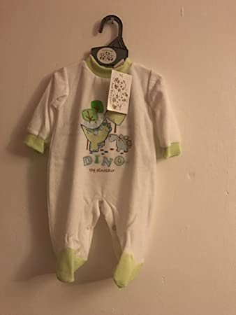 Babygrow Sleepsuit Baby Boy Velour All in One Just too Cuddly