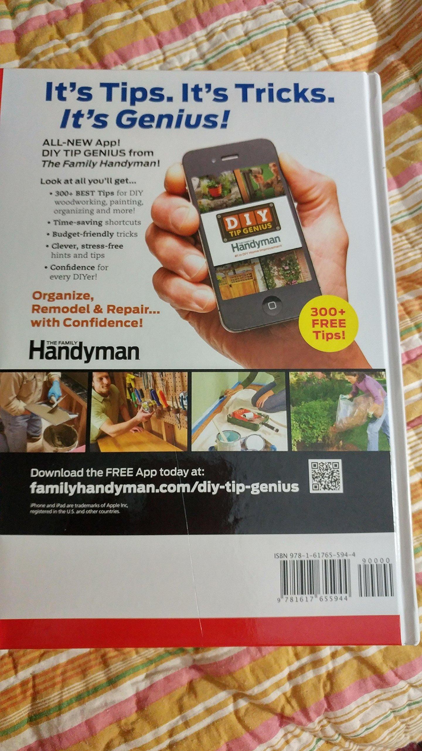 Free handyman price list - The Family Handyman Build Your Skills Over 325 Pro Tips 9781617655944 Amazon Com Books