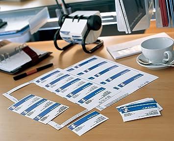 Avery C32028 25 200 Cartes De Visite Pour Imprimante Jet Dencre 250 Gr
