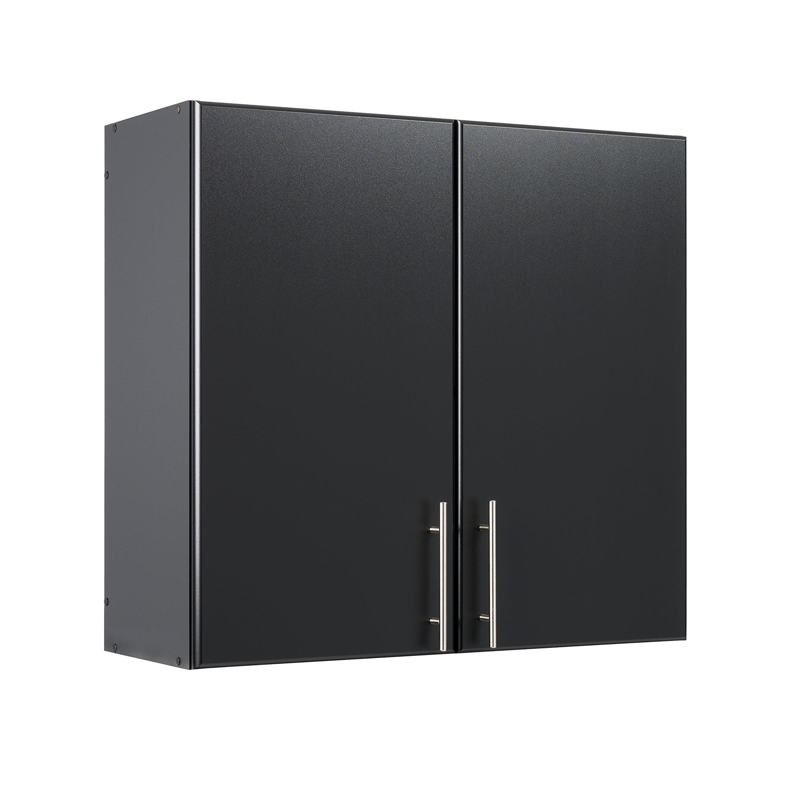 "Prepac BEW-3230 Storage, Elite 32"" Wall Cabinet, Black"