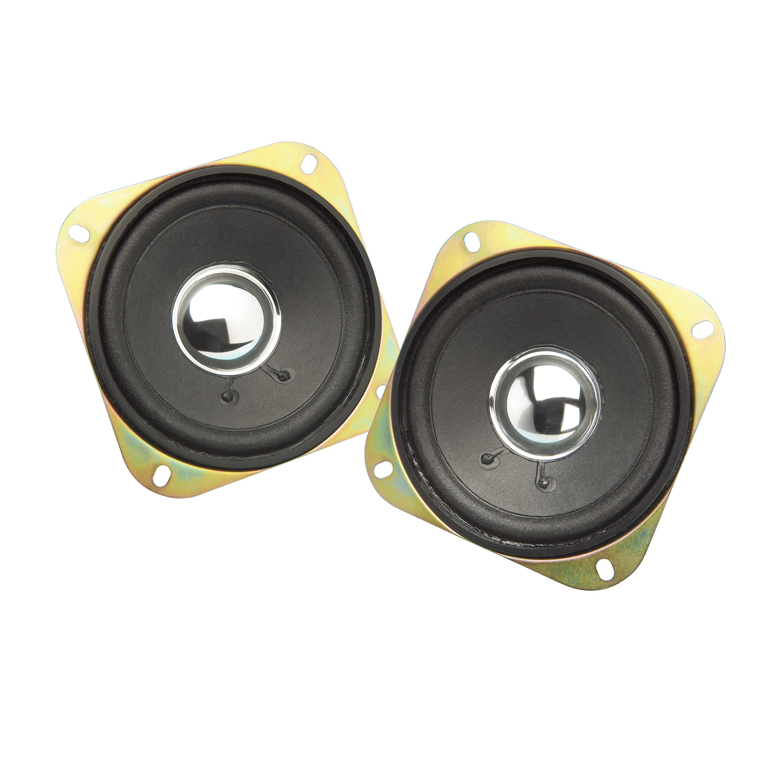 Show Chrome Accessories 2-169C 4'' Replacement Speakers by Show Chrome Accessories
