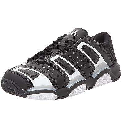 new photos 626fd 362aa adidas Court Stabil, Chaussures de sport d intérieur homme - noir blanc