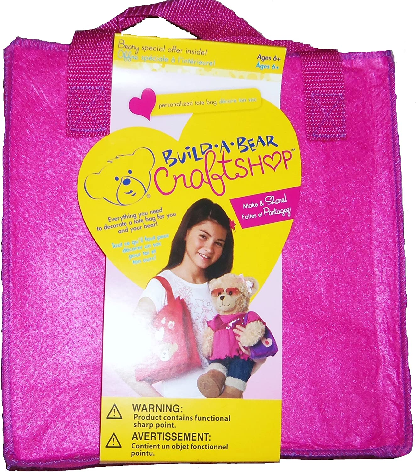 Build-a-Bear Crafts Make /& Share Rock Your Tote