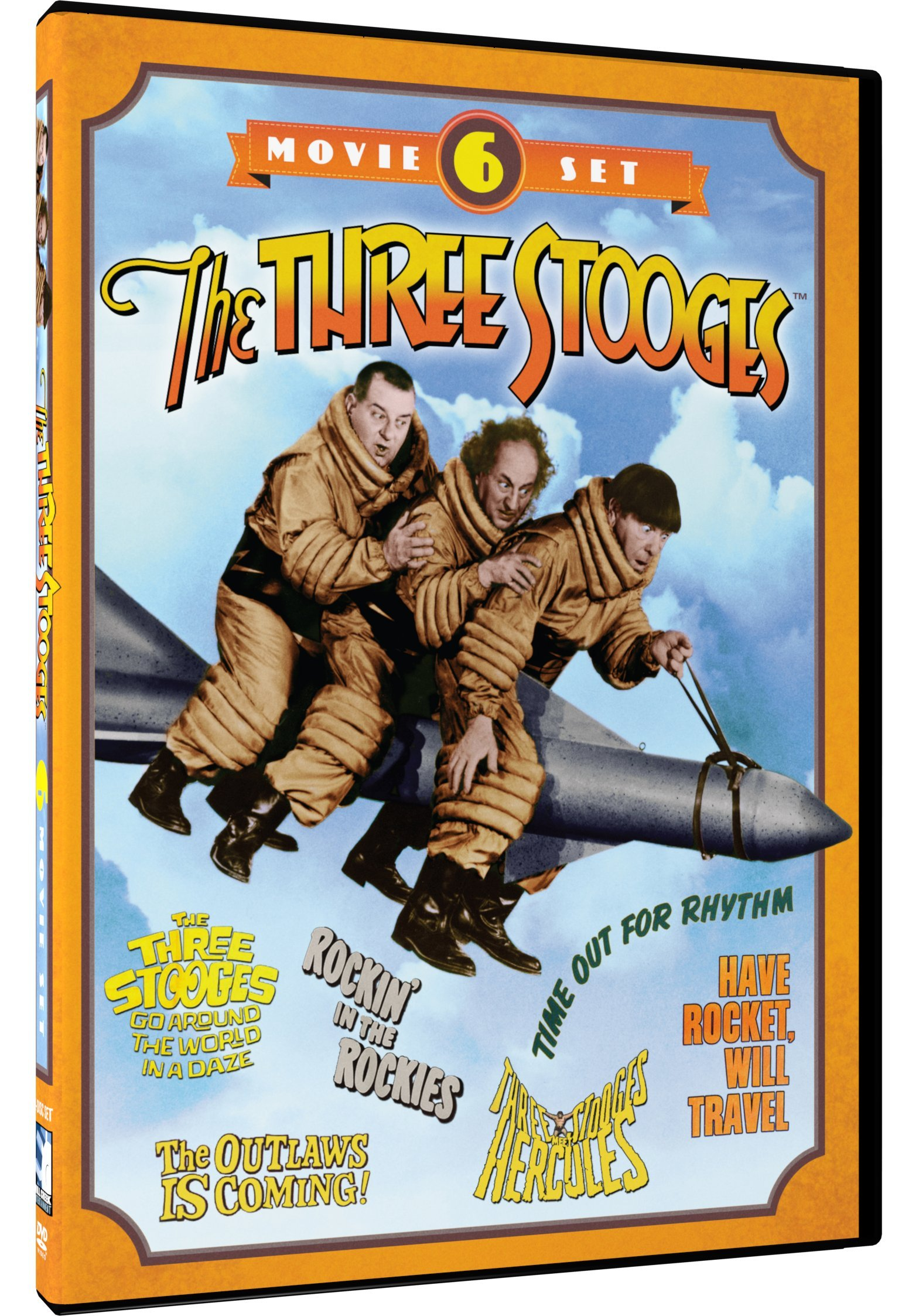 DVD : The Three Stooges Collection: 6-Movie Set (Full Frame, Black & White, 2 Disc)