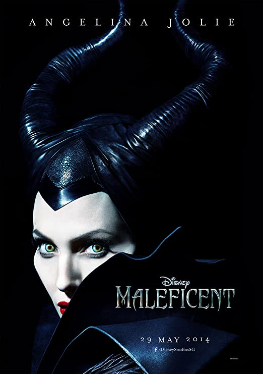 Amazon Com Wmg Maleficent 2014 24 X 36 Movie Poster Thick Angelina Jolie Elle Fanning Sharlto Copley Posters Prints