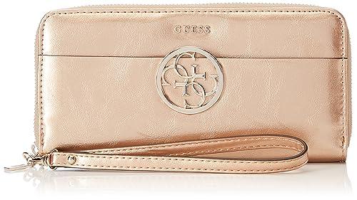 Guess SWMP6691460, Portafoglio Donna, Multicolore (Rose Gold