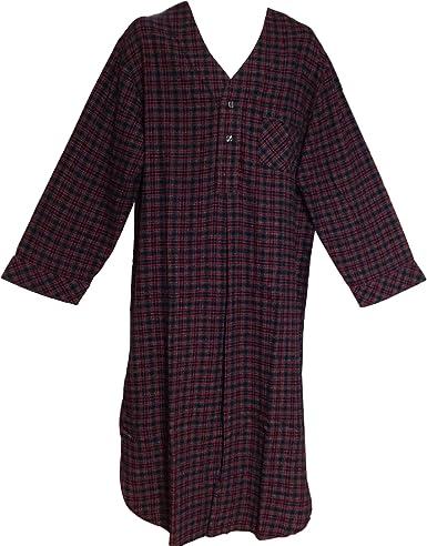 Stafford Mens Flannel Nightshirt