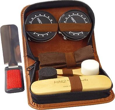 Amazon.com: Deluxe Travel Shoe Care Kit