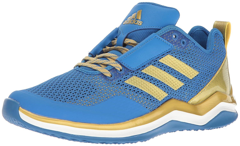 Bleu Metallic or blanc Adidas Speed Trainer 3.0 Synthétique Baskets 47.5 EU