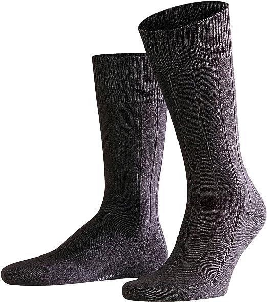 Falke Mens Anthra Lhasa Socks Grey
