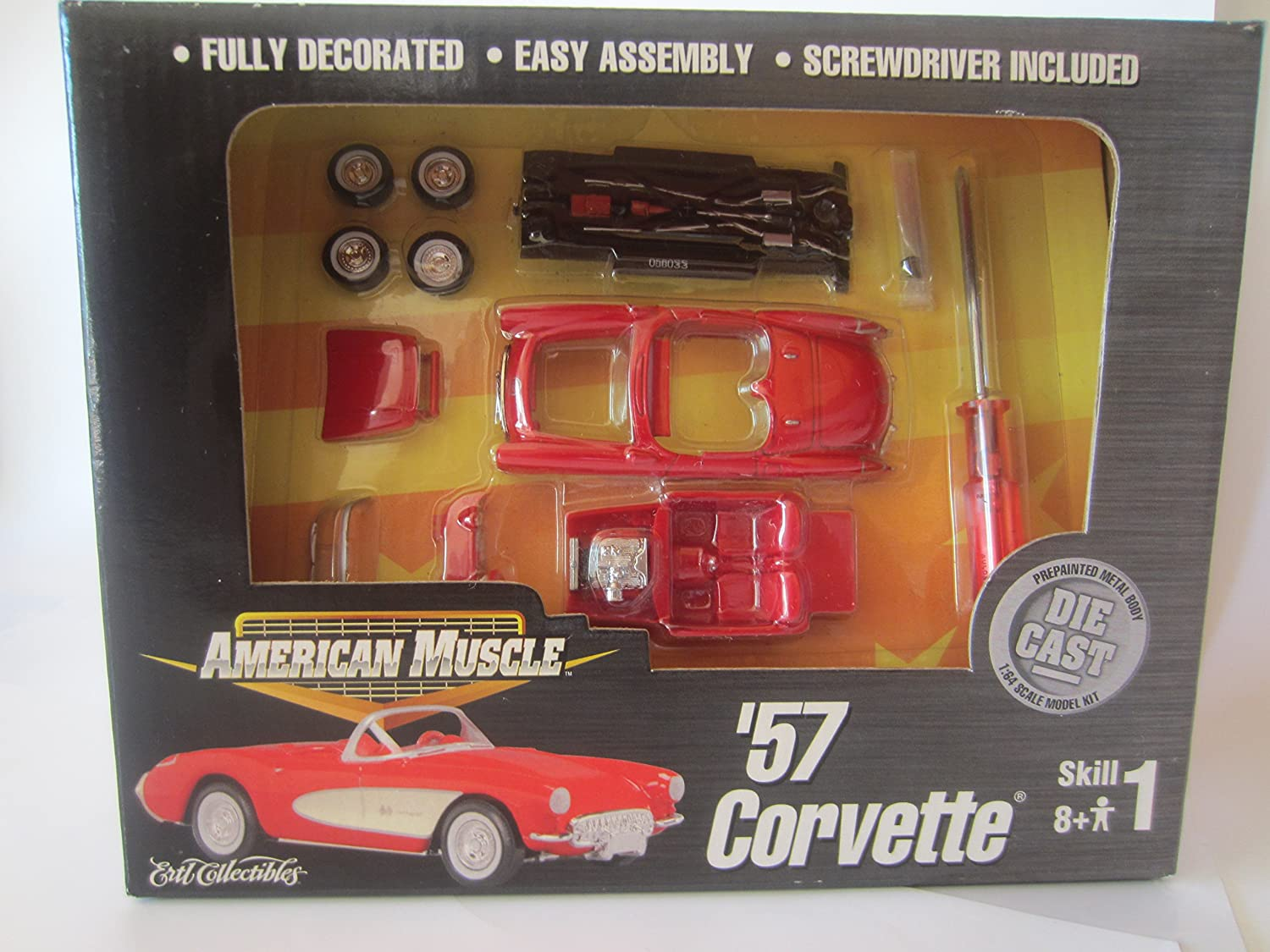 Amazon ertl american muscle collectibles chevy corvette