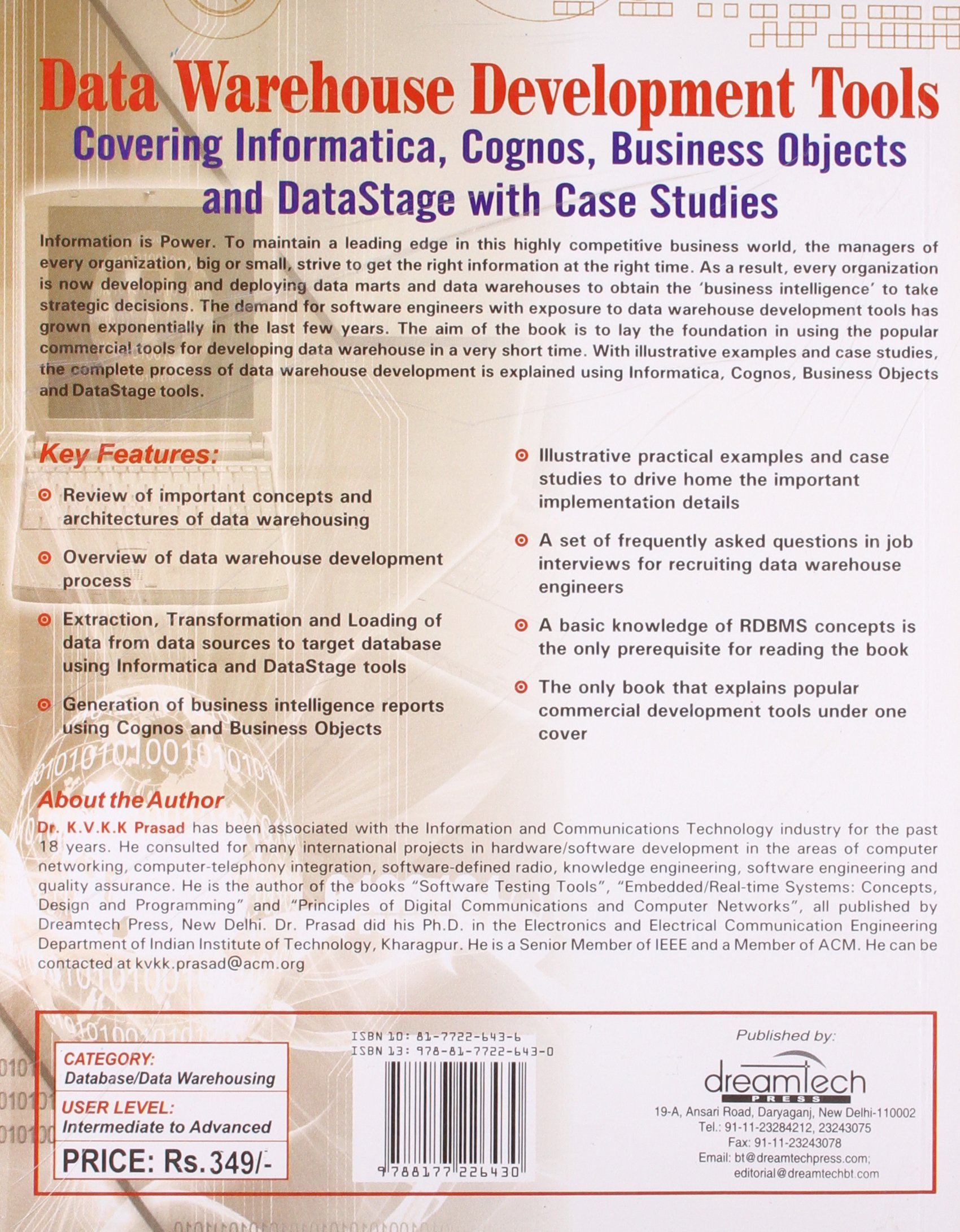 Buy Data Warehouse Development Tools Book Online at Low Prices in