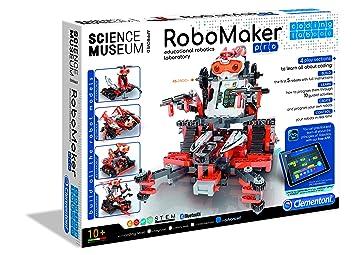 Clementoni Juego para Construir un Robot, Aprobado por el Museo de la Ciencia (61757