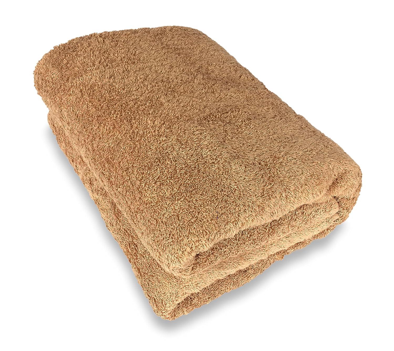 Goza Towels 100 Cotton Oversized Bath Sheet Towel (40 x 70 inches) (White)