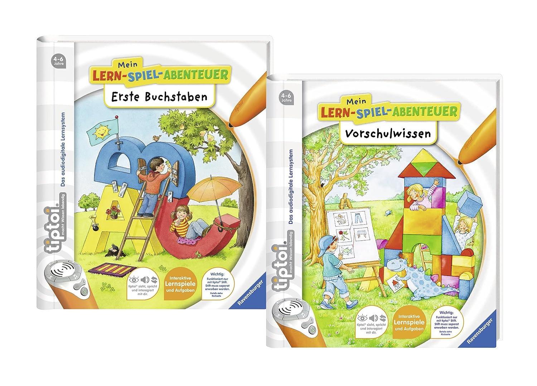 NEU Mein Lern-Spiel-Abentuer Erste Buchstaben RAVENSBURGER tiptoi® Buch