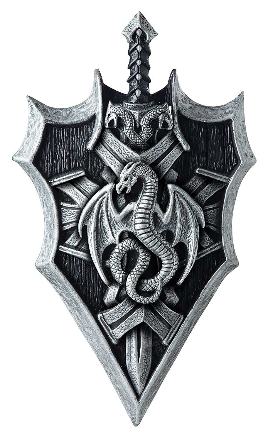 Men's Dragon Lord Shield and Sword
