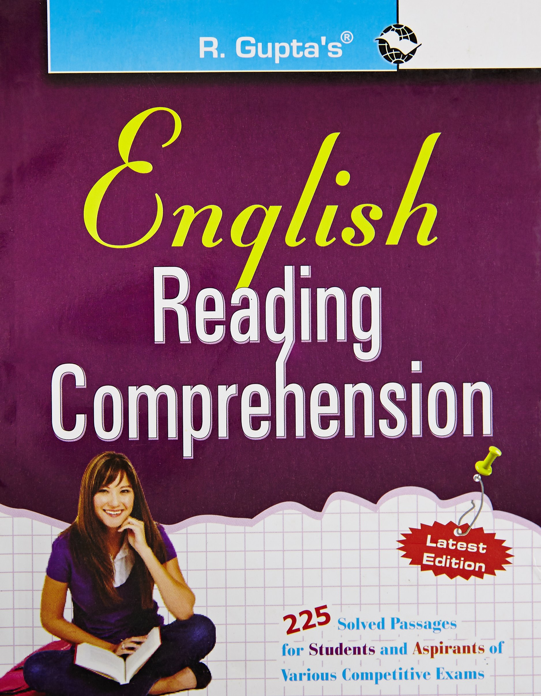 - English Reading Comprehension : 225 Solved Passages For Students