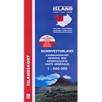 Island. Nordwest 1 : 300 000: North West (Maps of Iceland)