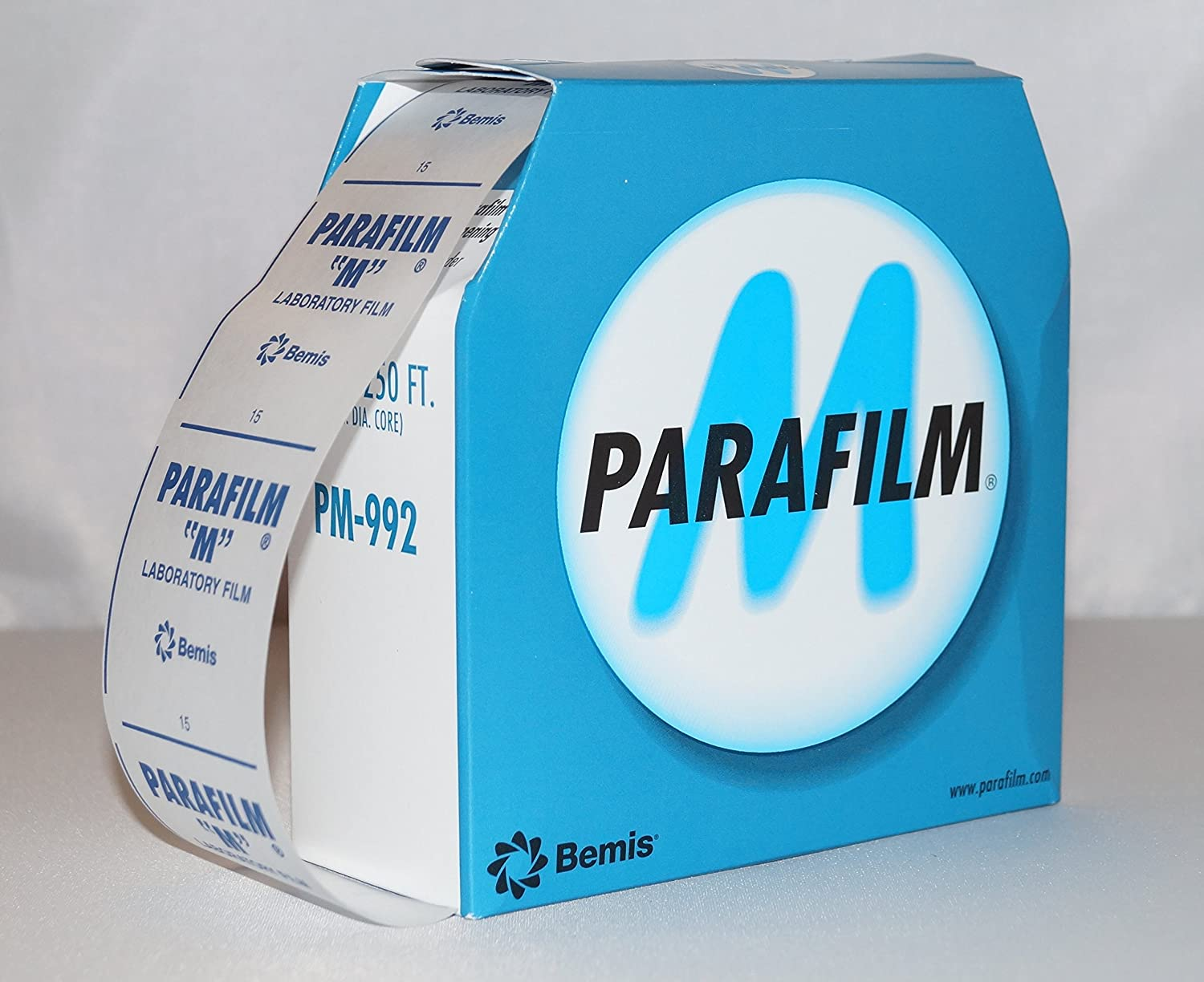 Parafilm 75m x 50mm (2 IN. x 250 FT.) for isolating and sealing bottles to close taping isolating most of all bottles shapes or containers Slkfactory SLK GmbH