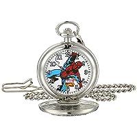 Men's Spider-Man W001742 Analog-Quartz Pocket Watch