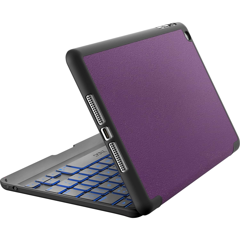 New Zagg Folio Backlit Hinged Bluetooth Keyboard Cover
