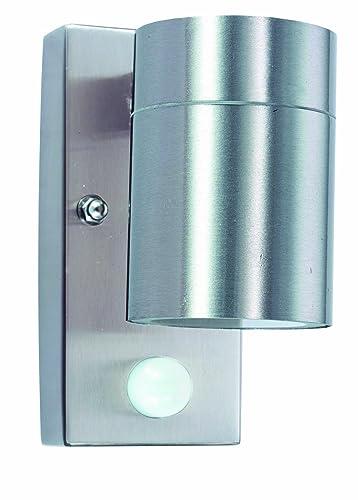 Tp24 low energy utah led outdoor light fitting in stainless steel tp24 low energy utah led outdoor light fitting in stainless steel finish with pir sensor aloadofball Images