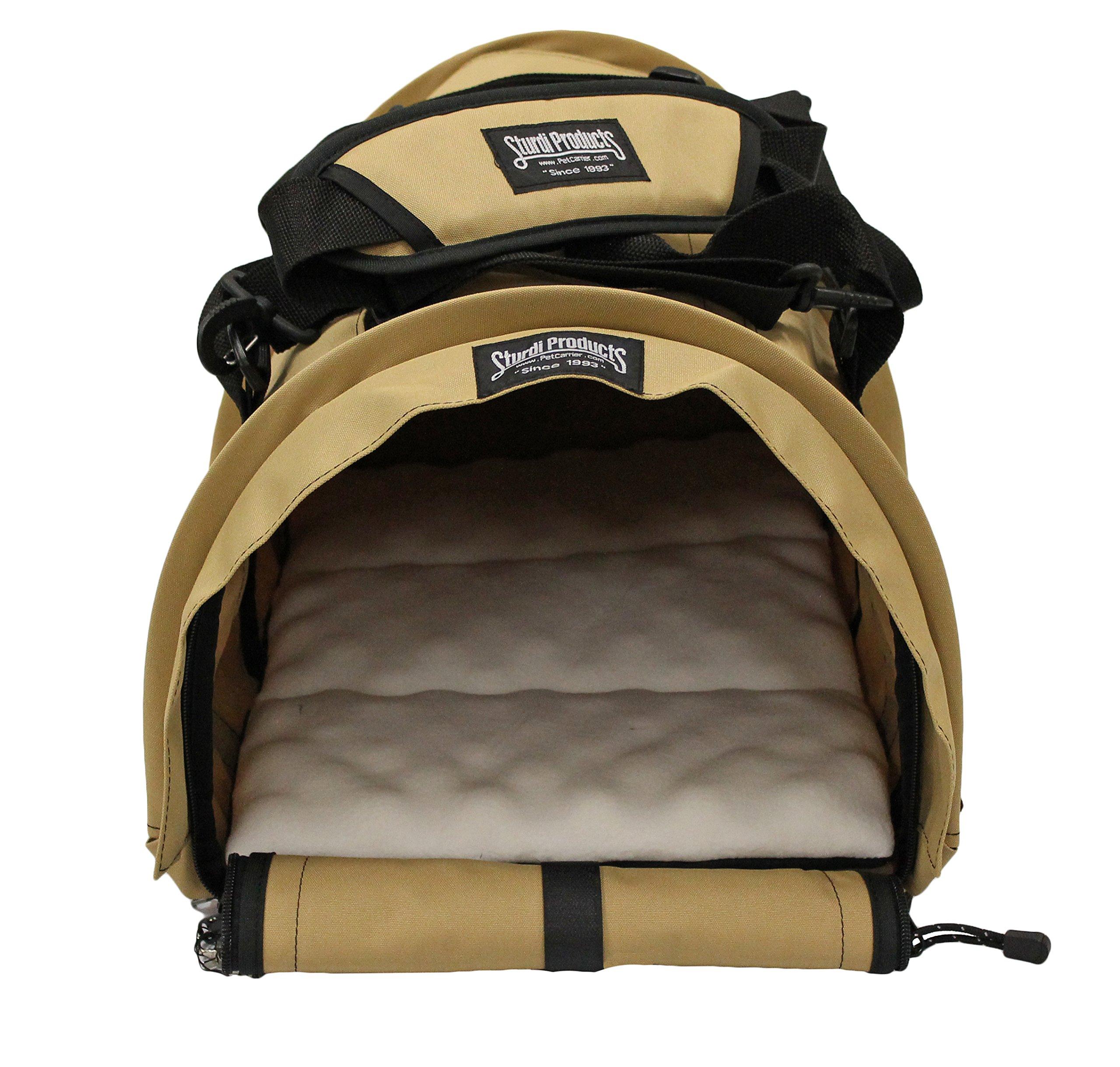 Sturdi Products SturdiBag Large Pet Carrier, Earthy Tan