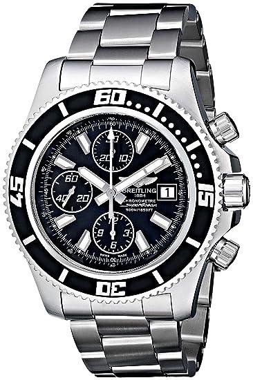 Breitling A1334102/BA84SS - Reloj de Pulsera Hombre, Acero Inoxidable, Color Plata