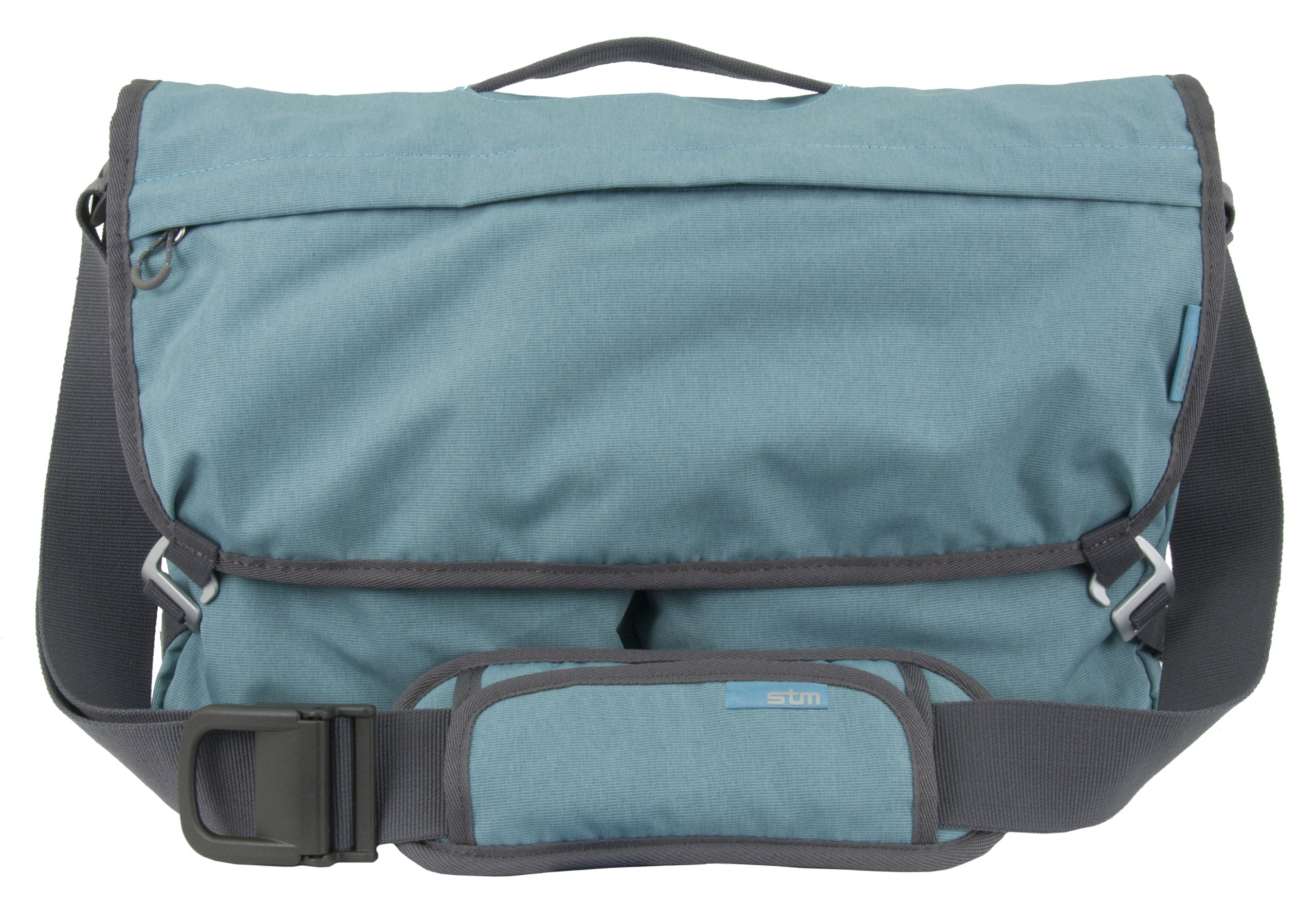 STM Nomad Shoulder Bag with Removable Computer Sleeve and Integrated iPad/Tablet Pocket (XS) for 11-Inch MacBooks and Laptops (dp-3200-18)