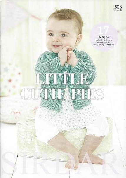 Sirdar Knitting Pattern Book 508 Little Cutie Pies Sirdar