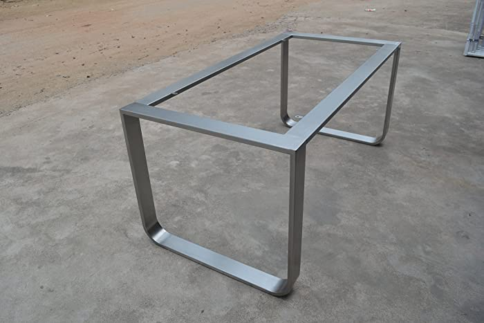 Captivating 28u0027u0027 Table Base, Metal Table Legs, Industrial Style, Woodworking, Stainless