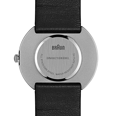 Braun damen armbanduhr xs analog quarz bn0021bkbkl