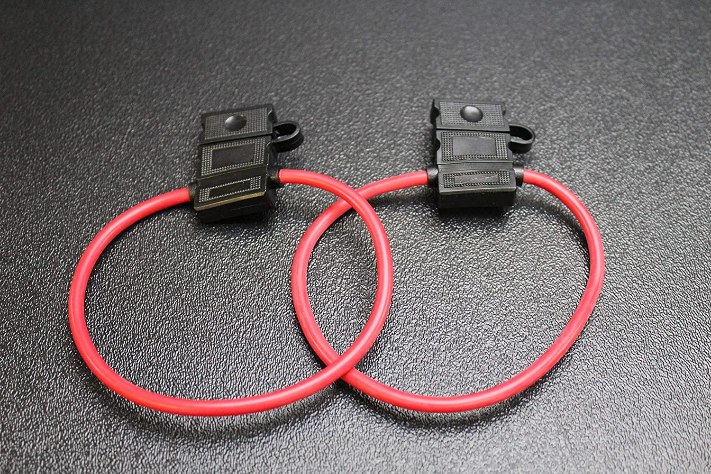 14 Gauge ATC Fuse Holders in-LINE AWG Wire Copper 12V Blade Waterproof EE 2