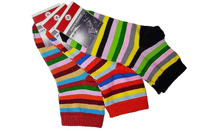 9 Pares de Calcetines Zapatillas Zapatillas de mujer, calcetines, calcetines de mujer, multicolor