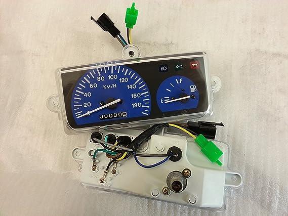 Armatureneinheit Mit Kilometerzähler Für Yamaha Bws 50 Mbk Booster Spirit Auto