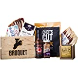 Bacon Gift Pack (Bacon Lover Sampler Set) – Bacon Six Ways - Gourmet Food Gift – Great Gift For Men – Comes in a Wooden Gift Crate