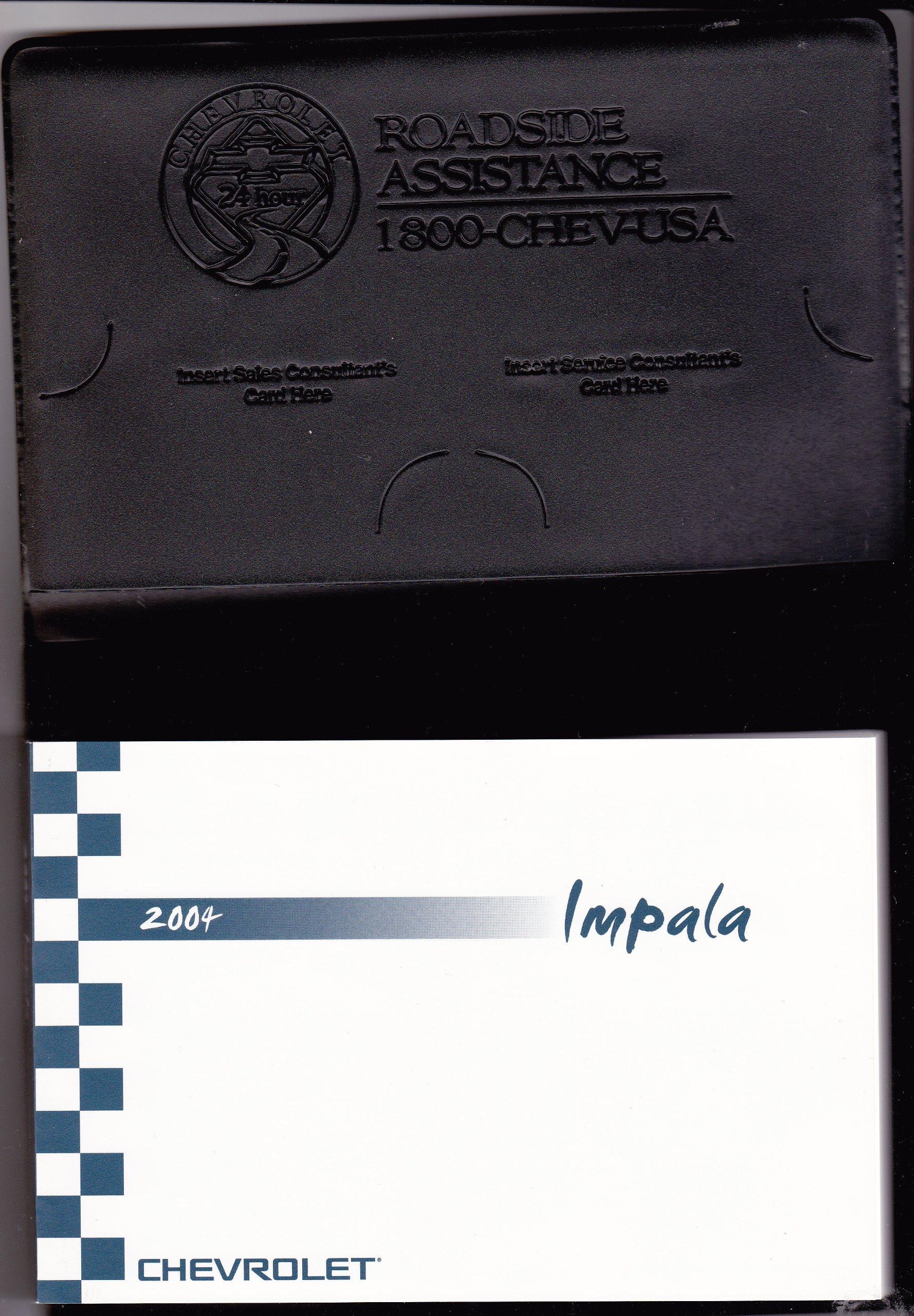 2004 chevrolet impala owners manual chevrolet amazon com books rh amazon com 04 Chevy Impala Interior 04 Chevy Impala Interior