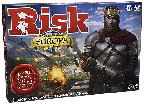 Games Risk Europa Hasbro B7409105 Amazon Es Juguetes Y Juegos