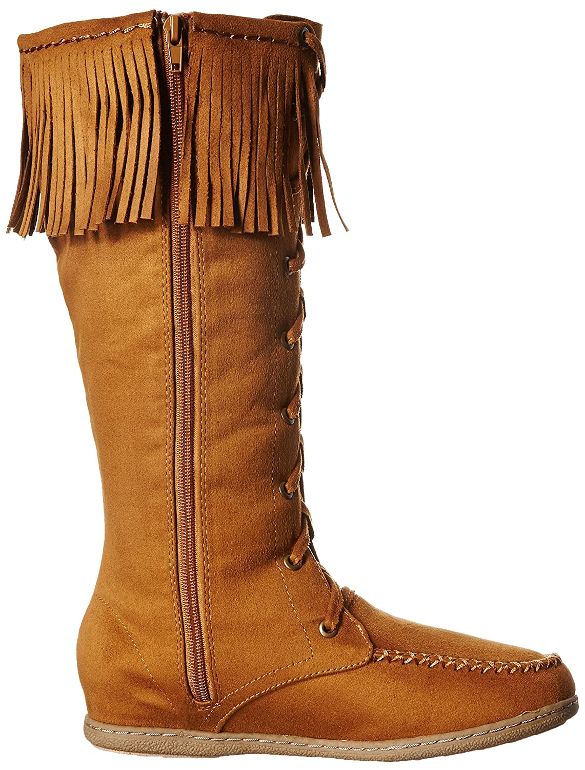 Soda Womens Vinery-S Boot Light Taupe Imitation Suede Size 9 M US