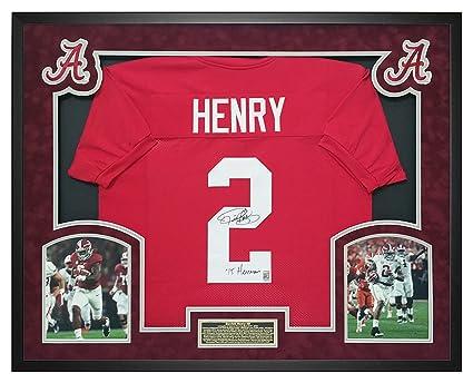 new concept ead85 fc1fb Derrick Henry Autographed Alabama Jersey w/Heisman - Custom ...