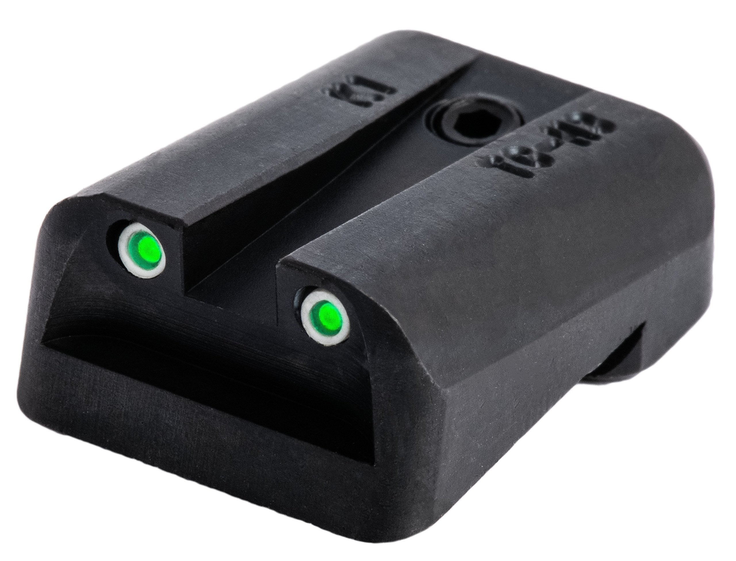 TRUGLO Tritium Handgun Glow-in-the-Dark Night Sights for Kimber Pistols, Kimber 1911 Models with Fixed Rear Sight by TRUGLO (Image #3)