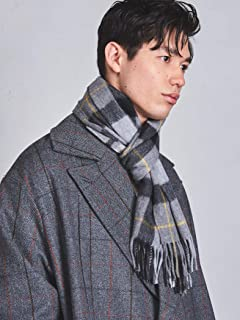 Wool Angora Scarf 1336-499-3533: Grey