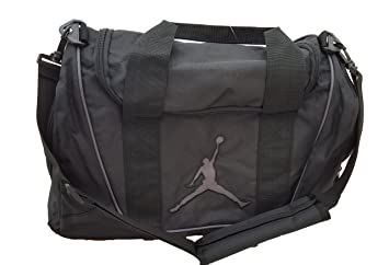Nike Air Jordan Duffel Gym Bag Basketball Tote Black Tote Travel Duffle BaG fd045a0150028