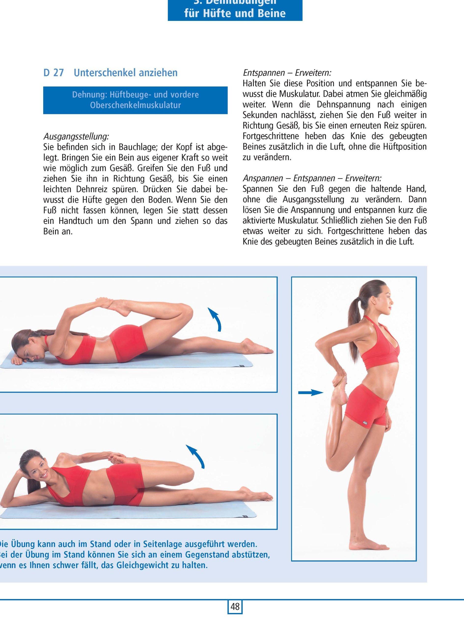 Sachbücher Sport Best Stretching Dehn-Übungen für alle Sportarten Übungen Training Tipps Buch NEU