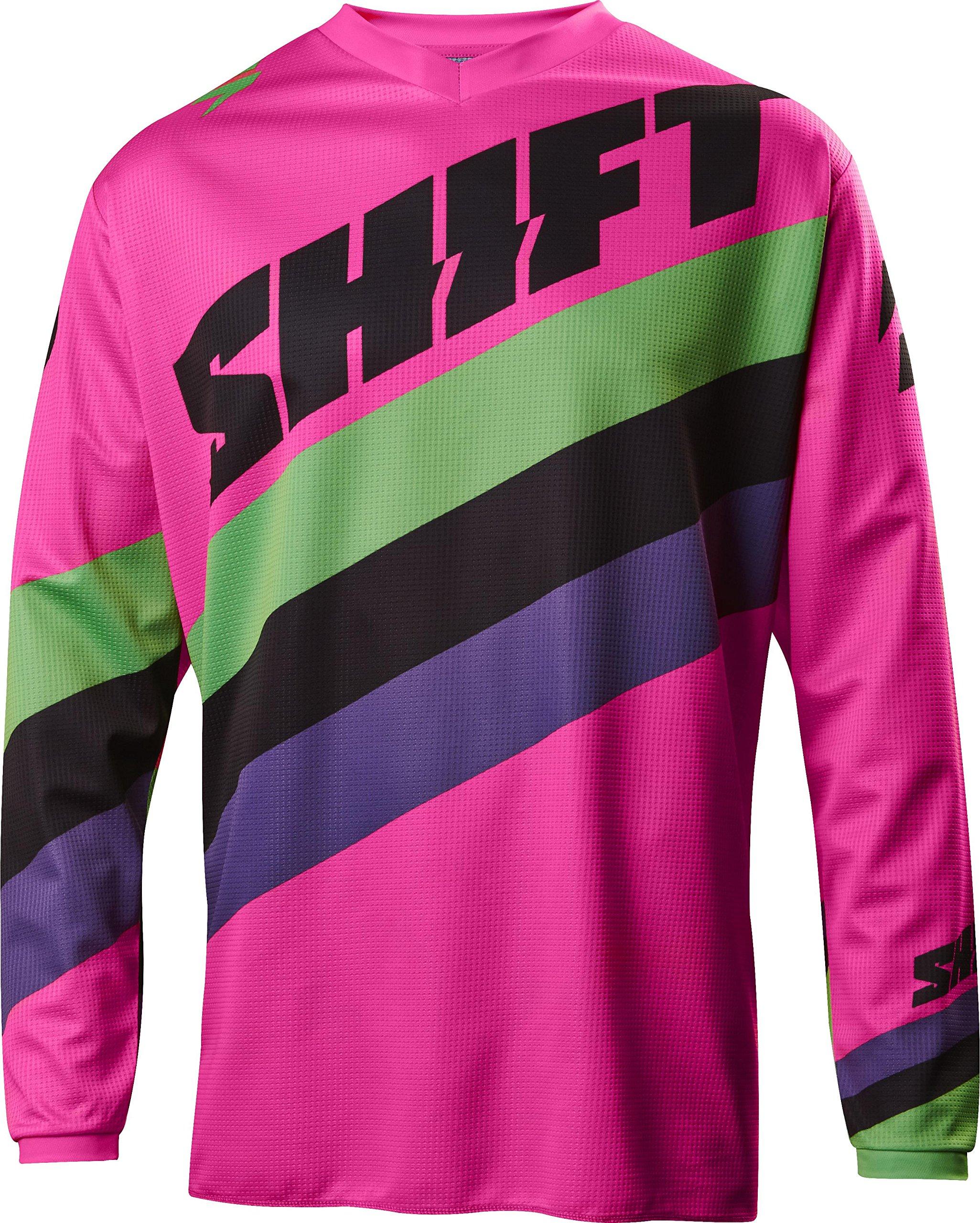 Shift 2017 White Label Tarmac Jersey-Black/Pink-M