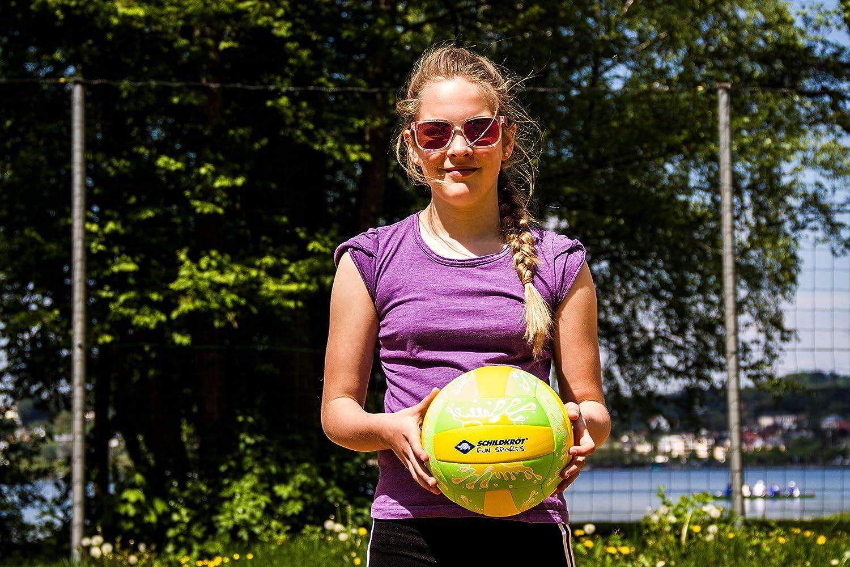 normale Gr/össe Schildkr/öt Funsports Neopren BEACHVOLLEYBALL Gr 970274 farblich sortiert 5 /Ø 21cm